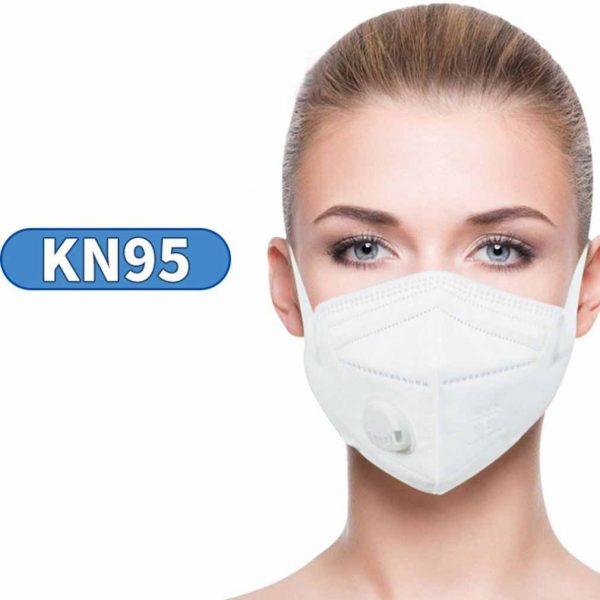 Респиратор KN95 с клапаном (FFP2)