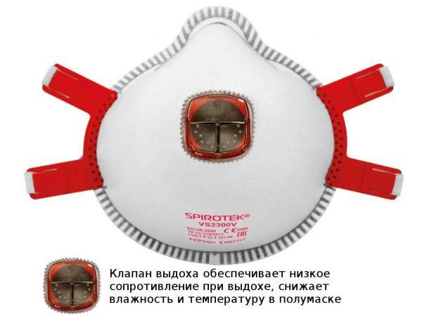 Респиратор Spirotek VS2300 (FFP3)